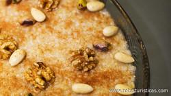 Armenian Sweet Barley Pudding (anoushabour)