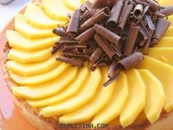 Tarta de Mango y Chocolate Blanco