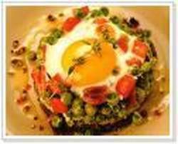 Espinaca Con Huevos Mollets
