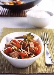 Wok de Verduras Con Tofu