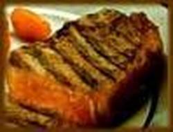 Bife de Chorizo al Horno Con Costra de Tomates Secos