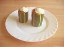 Calabacines en Una Salsa de Yogurt