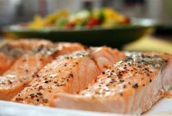 Filetes de Salmon al Horno