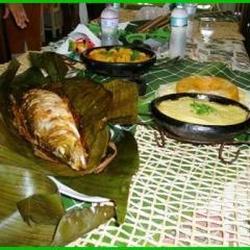 Peixe na Folha de Bananeira