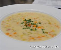 Pearl Barley Soup (bündner Gerstensuppe)