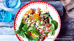 Lima Bean, Pumpkin And Rocket Salad (ensalada de Habas)