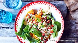 Lima Bean, Pumpkin And Rocket Salad (ensalada de Habas)