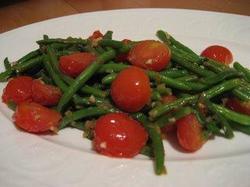 Porotos Verdes Con Tomate