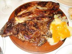 Carne Asada en Tiesto