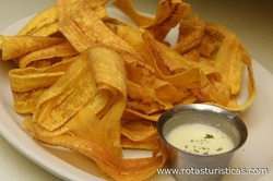 Fried Taro, Sweet Potato, Cassava And Plantain Chips (mariquitas)