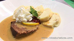 Sviečková (czech Beef With Cream Sauce)