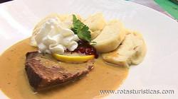 Sviečková (czech Beef With Cream Sauce)