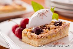 Kirsch – Bananen – Kuchen