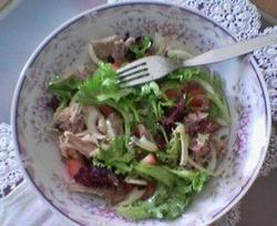 Salada de Chicória Com Tomates
