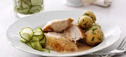 Pot-roast Chicken With Sides (grydestegt Kylling Med Persille)