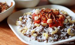 Lentils And Rice With Tomato (koshari)