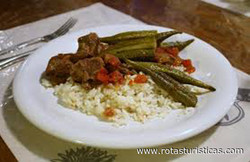 Bamya (okra) With Lamb