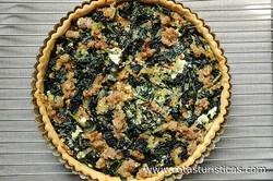 Kale And Walnut Tart