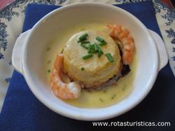 Scallop Mousse With a Prawn Sauce (mousseline de Coquilles st Jacques Sauce Crevette)