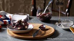 Cherry And Beaujolais Syrup With Almonds (soupe Aux Cerises au Beaujolais et Aux Amandes)
