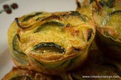 Zucchini And Cheese Flan (flan de Courgettes au Saint-marcellin)