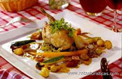 Quail With Grapes And Chestnuts (cailles Aux Raisins et Aux Marrons)