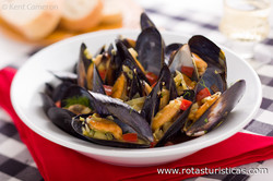 Mussels in White Wine (moules Marinières)