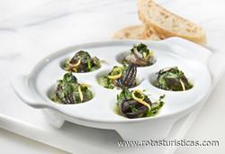 Snails Provençale (escargots à la Provençale)