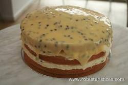 Passionfruit Sponge
