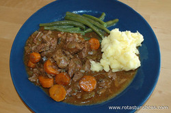Steak And Kidney Casserole With Carrots