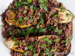 Eggplant With Lamb