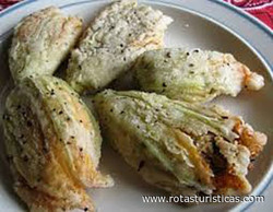 Zucchini Flowers Stuffed With Herbs And Rice