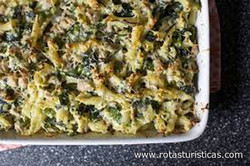 Broccoli Béchamel Bake