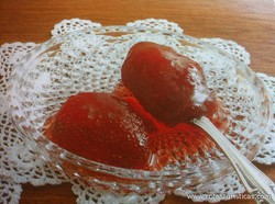Strawberry Spoon Sweet (gliko Tou Koutaliou me Fraoula)