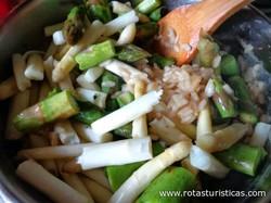 Asparagus Risotto (rizot od Sparoga)