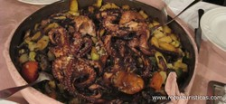 Baked Octopus in White Wine (peka od Hobotnice)