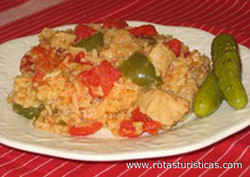 Pork With Rice - Serteshus Rizzsel