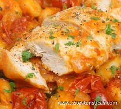 Hungarian Chicken Casserole