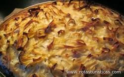 Hungarian Noodle Cake (vargabeles)