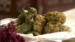 Herb And Ginger Fishcakes With Beetroot Relish