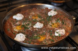 Beef Shakshuka With Smoked Eggplant