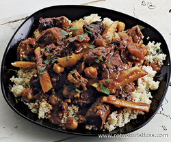 Lamb Casserole With Prunes