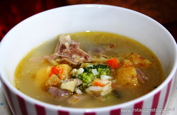 Lamb Soup (kjotsupa)