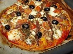 Pizza Com Anchovas