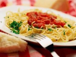 Espaguete à Marinara