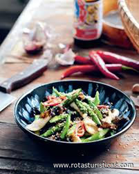 Wok-tossed Squid With Kampot Pepper