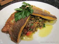 Peixe Assado ou Frito Com Molho de Gergelim (tahine) - Samak Mah Taratur