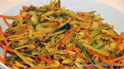 Spicy Pickled Coleslaw (zasar)