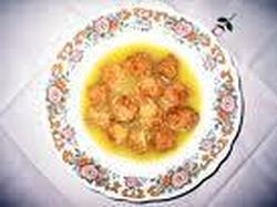 Sopa Con Albóndigas