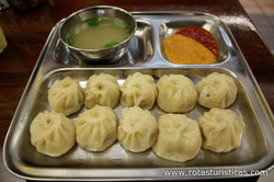 Nepali Chicken Dumplings (momo)
